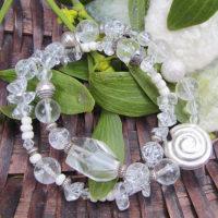 Armkette-Bergkristall
