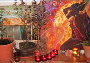 ritual-altar-yule